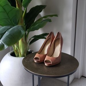 RALPH LAUREN Brown/Tan Heels
